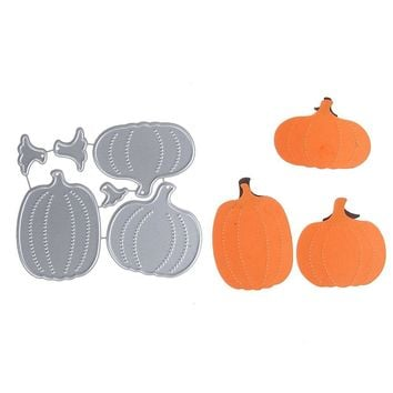 69*80mm DIY Scrapbooking Embossing Halloween Pumpkin Carbon Steel Cutting Die Stencil For Home Wedding Festival Card Making