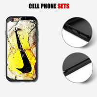 Ugly Riped Ball Nike Custom Print On Hard Plastic CASE COVER For iPhone 8/8+