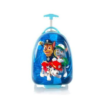 Heys Paw Patrol Designer Luggage Case [Chase, Rocky and Marshall - Blue]