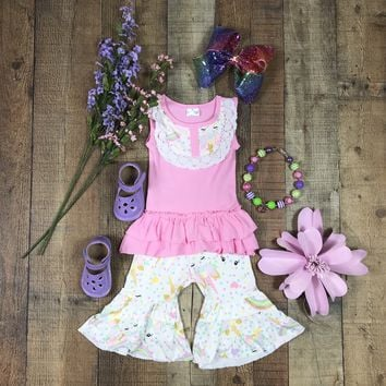 RTS Pink Capri Unicorn Set  D24