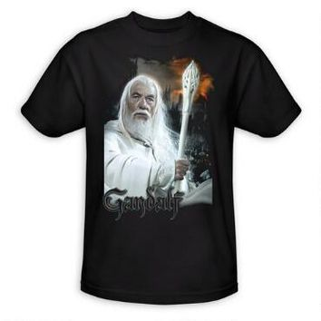 The Lord of the Rings Gandalf Adult T-Shirt | WBshop.com