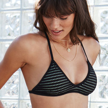 Hurley Meshed Bralette Bikini Top at PacSun.com