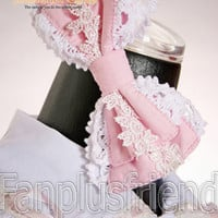Sweet Lolita Rose Lace Bow Hair band*4 Colors