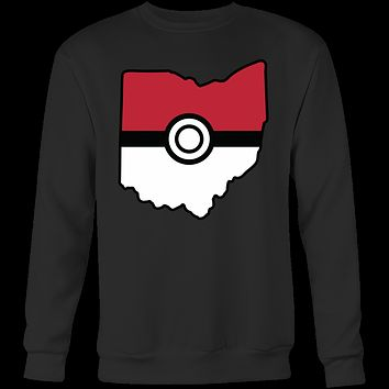 Pokemon USA American State Sweatshirt T Shirt - TL00623SW