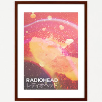 Radiohead - A3 Poster