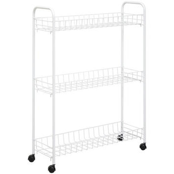 Honey-can-do 3-tier Laundry Cart (pack of 1 Ea)