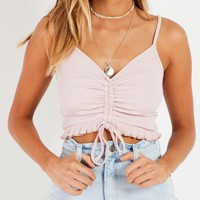 Stand Out Crop - Blush