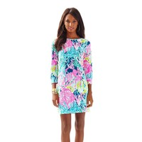 Marlowe Boatneck T-Shirt Dress - Let's Cha Cha - Lilly Pulitzer