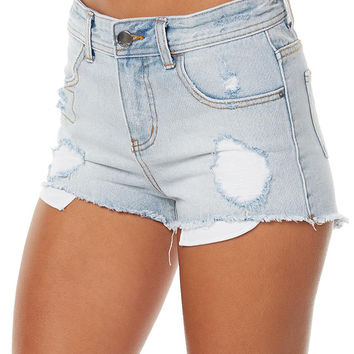 BILLABONG MEMORY LANE WOMENS SHORT - SUN BLEACH