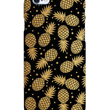 Uncommon Women's Fancy Pineapples iPhone 6 Plus SS Deflector Case