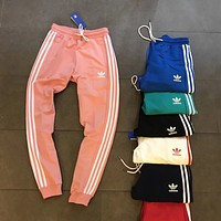 ADIDAS Woman Men Fashion Running Pants Trousers Sweatpants