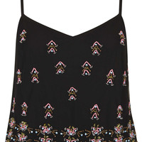 Embellished Cami Top - Tops - Clothing - Topshop USA