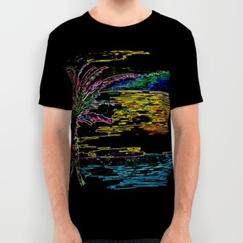 Paradise Island All Over Print Shirt by ES Creative Designs