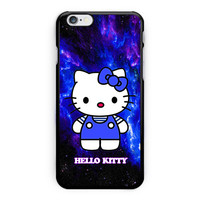 Hello Kitty Blue Galaxy Nebula iPhone 6 Case