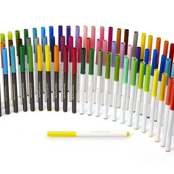 Crayola Super Tips Washable Markers 80 Count Includes Scented Markers great f...