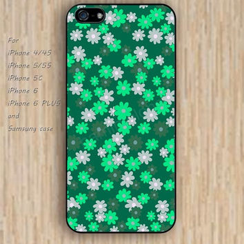 iPhone 6 case colorful Small Chrysanthemum lighting iphone case,ipod case,samsung galaxy case available plastic rubber case waterproof B077