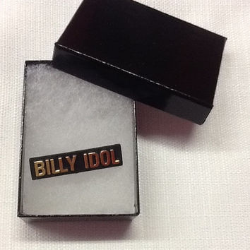 Vintage 80s Billy Idol Pin