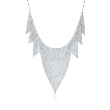 Tiffany & Co. - Elsa Peretti®:Mesh Zigzag Necklace