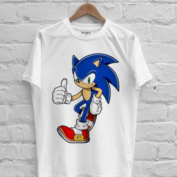 Sonic the Hedgehog T-shirt Men, Women Youth and Toddler