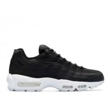 Ready Stock Nike Air Max 95 Stussy Black White Sport Running Shoes
