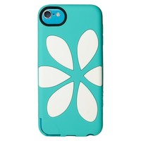 Agent18 iPod Touch 5th Generation Case Flower - Turquoise/White