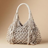Knotted Boho Bag | Robert Redford's Sundance Catalog