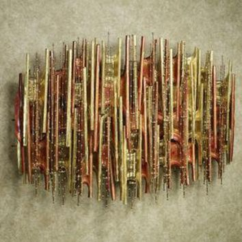 Turbulence Metal Wall Sculpture
