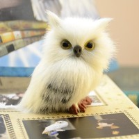 Harry Potter Hedwig owl model small gift anime fans gift birthday gift