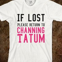 Channing Tatum - Like Skreened.com on Facebook and get a 10% off discount!