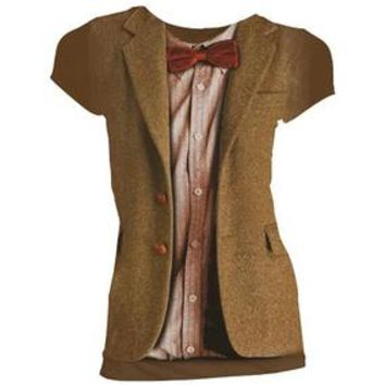 Doctor Who: Costume T-Shirts: 11th Doctor (Skinny Fit)