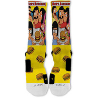 Bobs Burgers Customized Nike Elite Socks!!