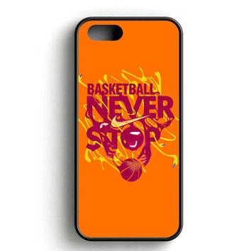 Basketball Never Stop on Behance iPhone 4s iPhone 5s iPhone 5c iPhone SE iPhone 6|6s iPhone 6|6s Plus Case