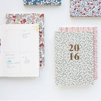 2016 Livework Warm breeze blows pattern dated diary scheduler