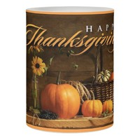 LED Candle/Happy Thanksgiving Flameless Candle