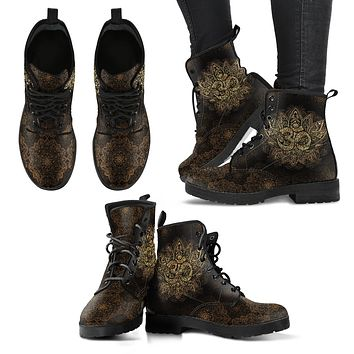 Golden Om Boots-Clearance