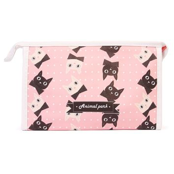 Kittens Cosmetic Bag