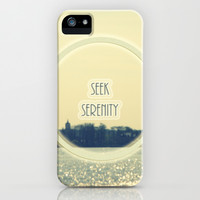 Seek Serenity iPhone & iPod Case by Armine Nersisian