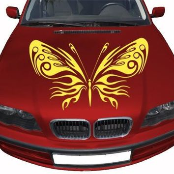 Butterfly 4 Car Decal