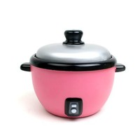 MochiThings.com: Pink Rice Cooker Coin Bank