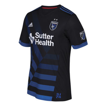 San Jose Earthquakes 2018 Primary Soccer MLS Jersey - Black