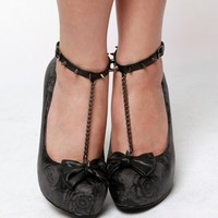 Iron Fist Shotgun Platform Shoes - Charcoal - Punk.com