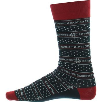 Alfani Mens Bahumbug Holiday Crew Socks