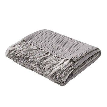 Ben and Jonah Daisy So Soft Throw Blanket with Fringes