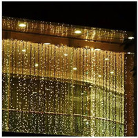 300 LED Curtain Light, Warm White, 3m x 3m - Walmart.com