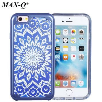 MAX-Q Defender Luxury TPU+PC Strong Hybrid Case For Apple iPhone 6/6s and iPhone 6/6s Plus