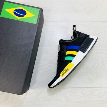 Adidas NMD XR1 For 2018 FIFA World Cup Brazil Boost Running Shoes - Best Online Sale