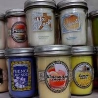 "Bath and Body Works  ""MASON JAR CANDLES""   Assorted!!  You Choose!"