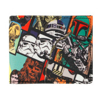Star Wars Collage Bi-Fold Wallet