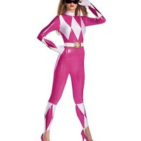 Power Rangers Pink Ranger Sassy Adult Womens Costume – Spirit Halloween