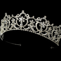 Regal Rhinestone Wedding and Quinceanera Tiara - on sale!